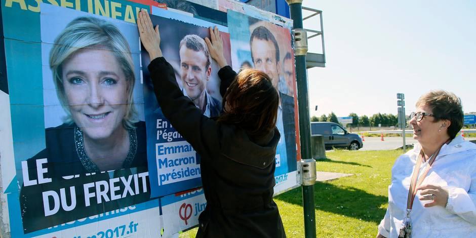 Sondage sur la présidentielle : L'écart se réduit entre Macron et Le Pen