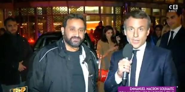 Séquence surréaliste dans TPMP: Emmanuel Macron intervient en direct avec Cyril Hanouna - La Libre