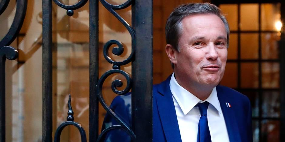 Nicolas Dupont-Aignan nommé Premier ministre en cas de victoire du FN