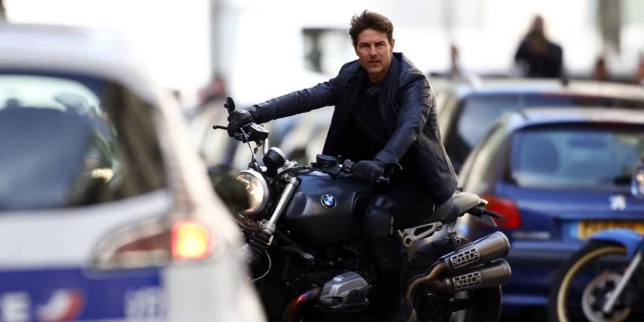 """Le tournage de """"Mission Impossible 6"""" se poursuit à Paris, en présence de Tom Cruise (PHOTOS ET VIDEOS)"""