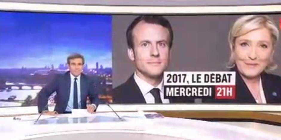 """Menace de quitter le plateau lors du débat face à Le Pen: Un proche de Macron évoque """"un échange mal compris"""""""