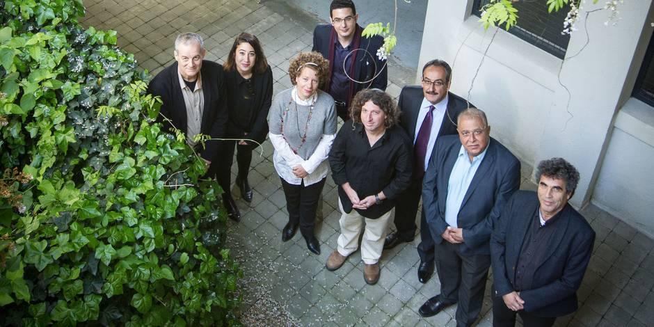 """Des représentants de l'association israélo-palestinienne """"One Homeland Two States"""""""