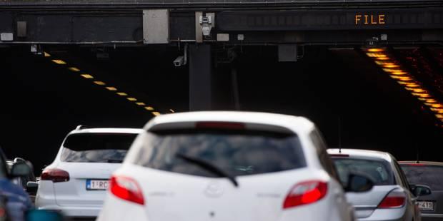 """Bruxelles: """"Un radar tronçon dans le tunnel Léopold II est prématuré"""" - La Libre"""