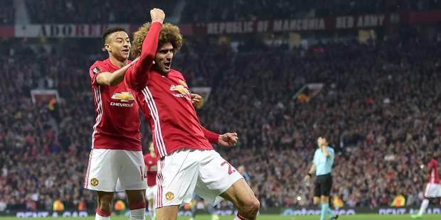 Europa League: Marouane Fellaini ouvre le score contre le Celta Vigo (VIDEO) - La Libre