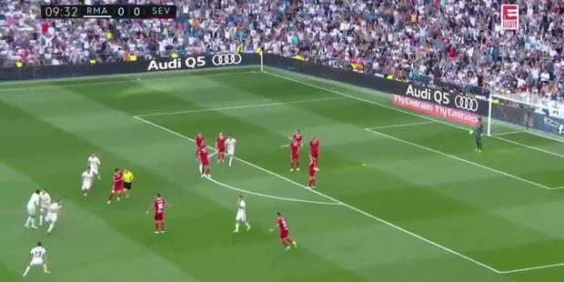 Ce but polémique du Real Madrid face à Séville va faire beaucoup de bruit... (VIDEO) - La Libre