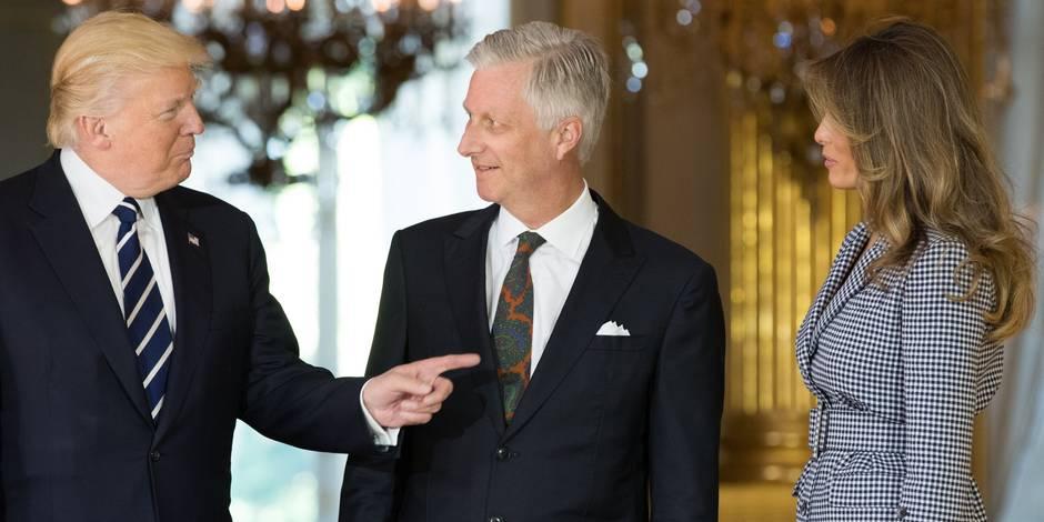 """Donald Trump remercie Bruxelles pour """"l'accueil chaleureux"""""""