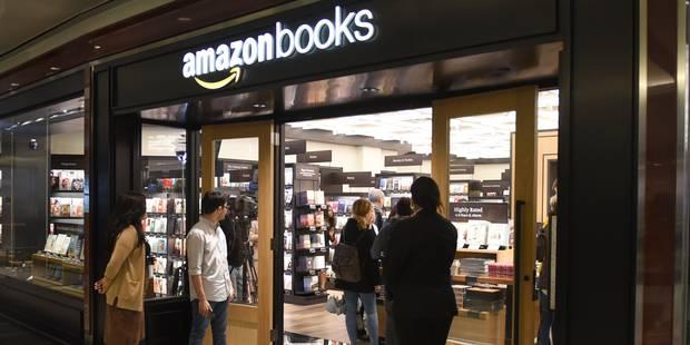 Amazon ouvre sa première librairie à New York - La Libre