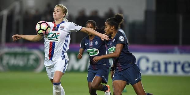 Football: Lyon-PSG, ou l'avènement du football féminin - La Libre