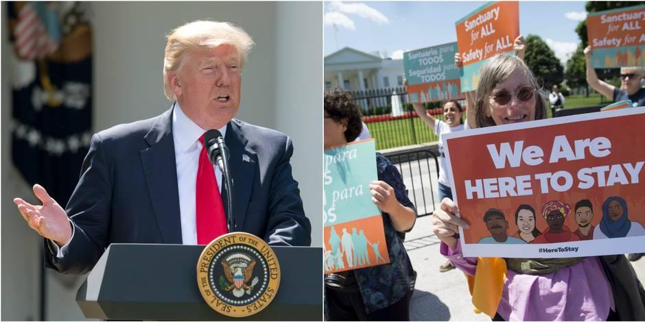 L'administration Trump saisit la Cour suprême pour rétablir son décret anti-immigration