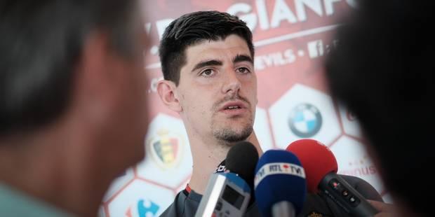 """Thibaut Courtois: """"Nous voulons nous rattraper après la déception subie face à la Grèce"""" - La Libre"""
