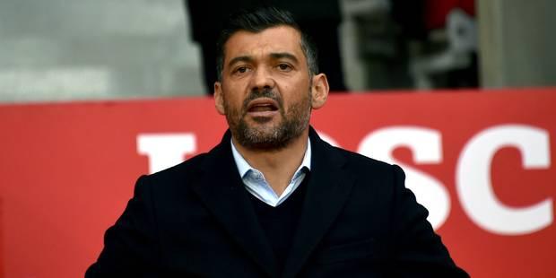 Nantes officialise le départ de Sergio Conceiçao pour Porto - La Libre