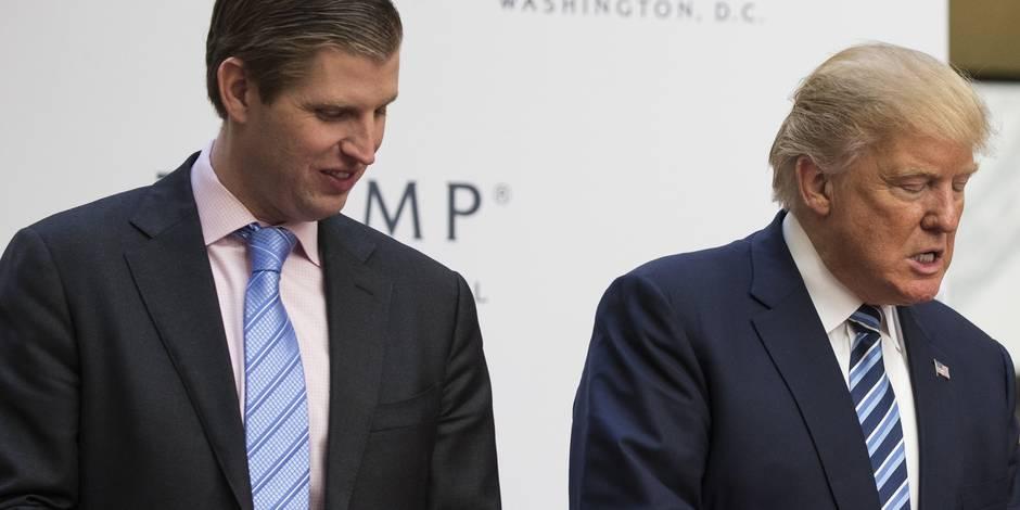 Trump aurait engrangé 1,2 million de dollars via l'association caritative de son fils