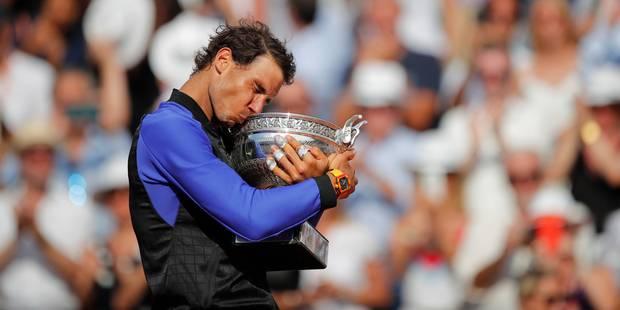 Nadal mange Wawrinka et s'offre son 10e Roland-Garros (PHOTOS + VIDEOS) - La Libre