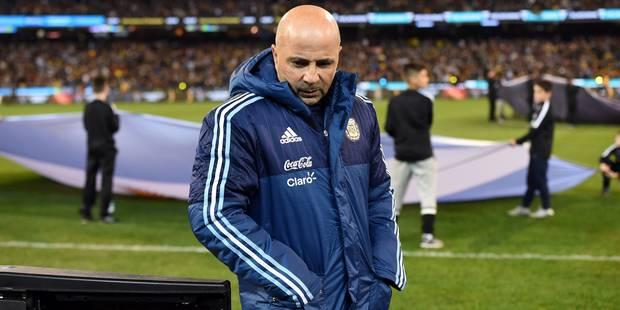L'Argentine de Sampaoli jouera en 2-3-5 face à Singapour ! - La Libre