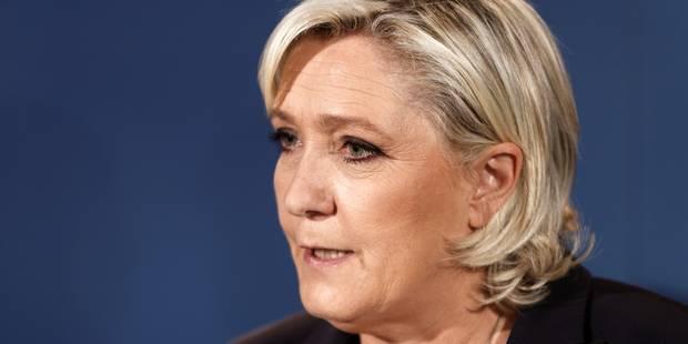 """Marine Le Pen veut mobiliser contre la politique """"dévastatrice"""" de Macron - La Libre"""