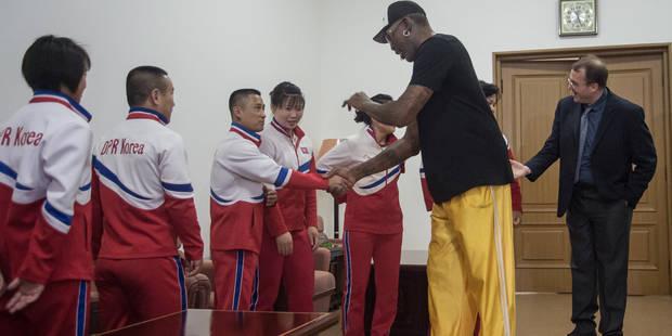 """Dennis Rodman veut """"construire un pont"""" entre la Corée du Nord et les Etats-Unis - La Libre"""
