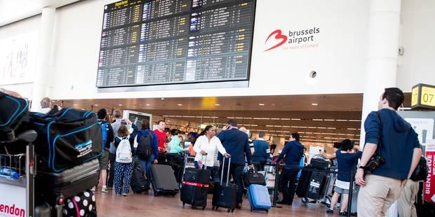 Alerte à la bombe: Les recherches à Brussels Airport ne révèlent rien de suspect - La Libre