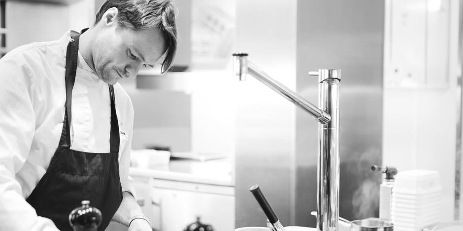 La passion, le piment dans la vie de Filip Claeys, chef doublement étoilé