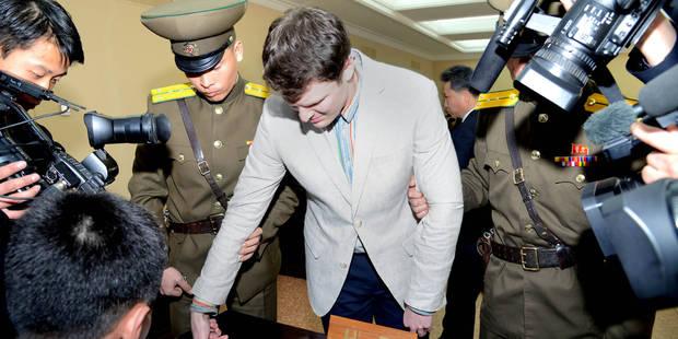 """""""Lourde responsabilité"""" de la Corée du Nord dans la mort de Warmbier, selon le président sud-coréen - La Libre"""