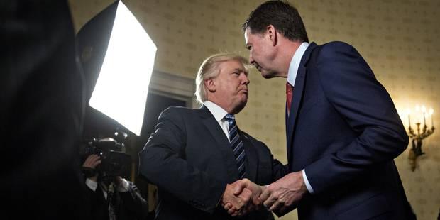 Etats-Unis: Trump assure ne pas posséder d'enregistrements de l'ex-chef du FBI - La Libre