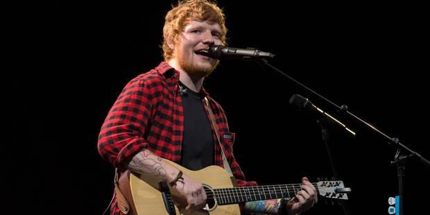 Ed Sheeran en concert à Werchter le 1er juillet 2018 - La Libre