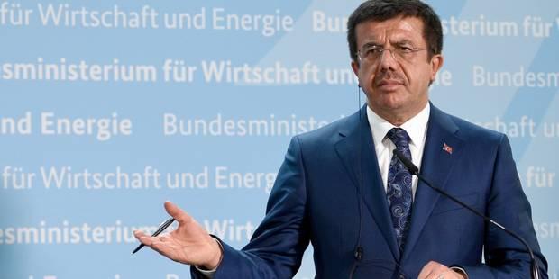 L'Autriche interdit une visite du ministre turc de l'Economie - La Libre