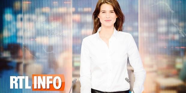 """Julie Denayer présente pour la première fois ce vendredi le JT de RTL: """"Ça restera sans doute occasionnel"""" - La Libre"""
