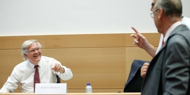 Kazakhgate: De Clerck admet avoir proposé un rendez-vous à De Decker à sa demande - La Libre