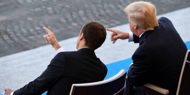 Comment les présidents Trump et Macron peuvent transformer le Moyen-Orient (OPINION) - La Libre