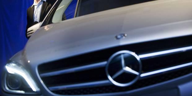 Daimler rappelle plus de 3 millions de voitures diesel Mercedes en Europe - La Libre