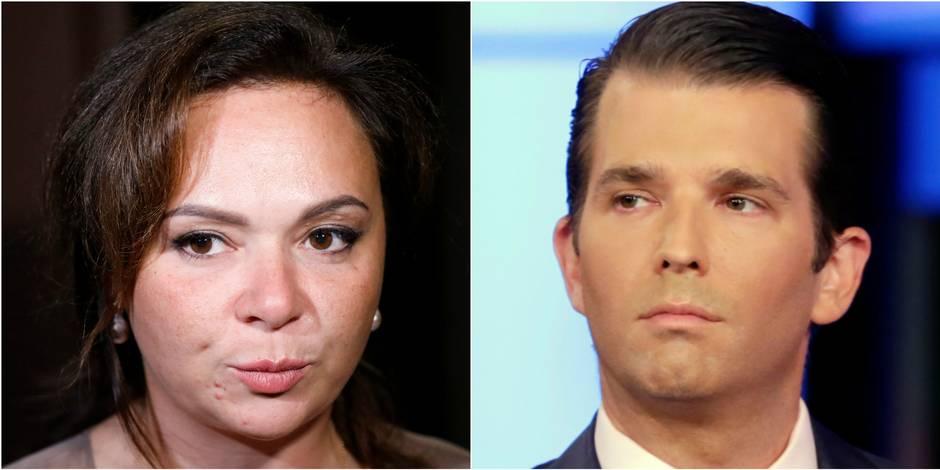 """Rencontre avec le fils Trump : l'avocate russe """"prête"""" à s'expliquer à Washington"""