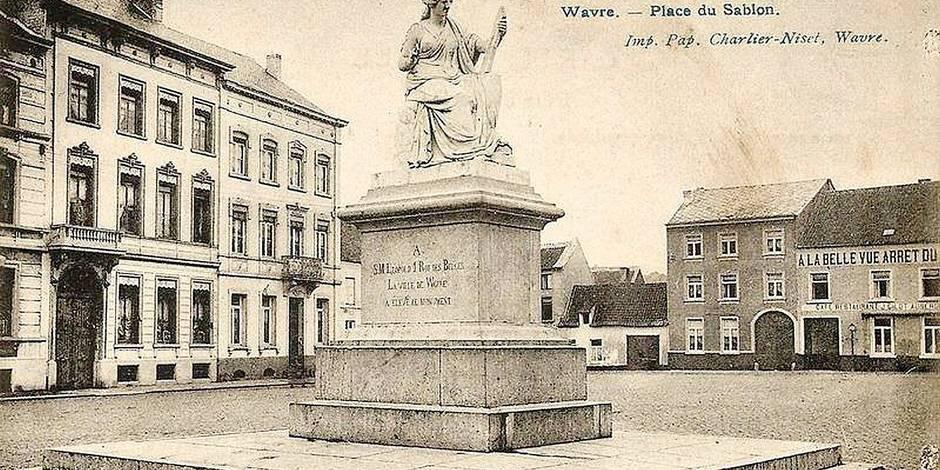 Une cure de jouvence pour la statue de la liberté de Wavre