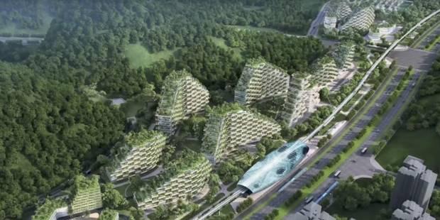Pour lutter contre la pollution, la Chine investit dans une ville-forêt pour 4 millions d'habitants (VIDEO) - La Libre
