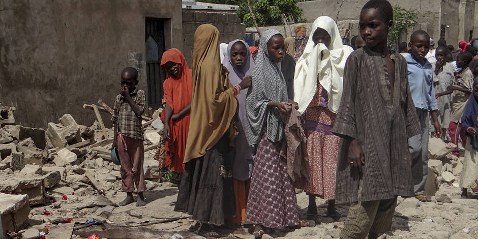 """Nigeria: l'armée blâme une erreur de """"marquage"""" après un bombardement ayant fait 112 morts"""