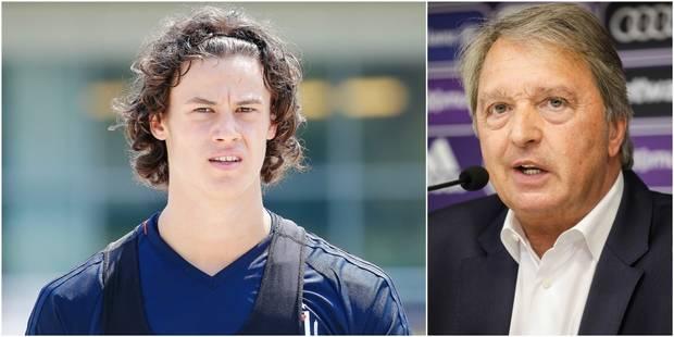 """Van Holsbeeck: """"Mile Svilar sera certainement titulaire la saison prochaine"""" - La Libre"""