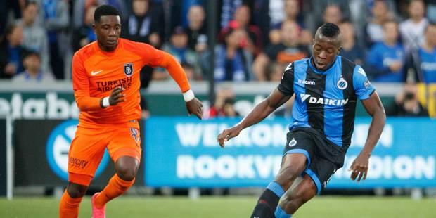 Préliminaires C1: le Club de Bruges gâche un bel avantage contre Basaksehir (3-3) - La Libre
