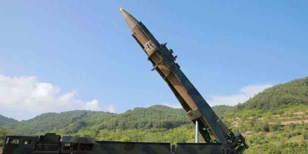 Nouveau tir de missile de la Corée du Nord, possibilité de réaction militaire des USA - La Libre