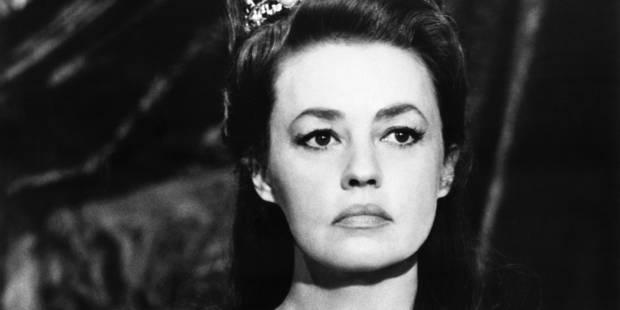 La comédienne Jeanne Moreau est décédée (PORTRAIT) - La Libre