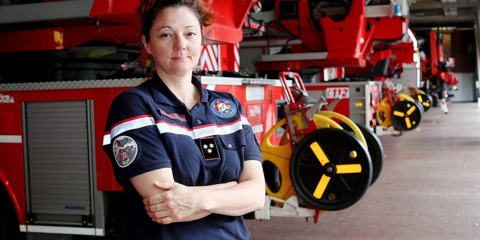 Bruxelles: les femmes pompiers victimes de discrimination - La Libre