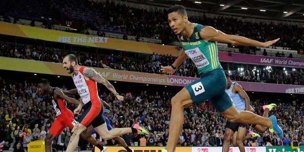 Mondiaux d'athlétisme: grosse surprise sur le 200m messieurs, Carter championne du 400 m haies - La Libre