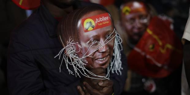 Emeutes et liesse au Kenya après la réélection du président Kenyatta - La Libre