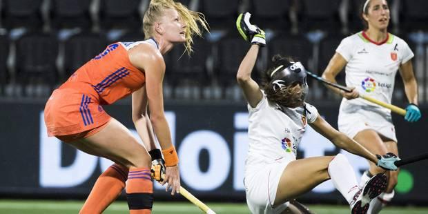 Euro de hockey: victoire des Pays-Bas contre l'Espagne 3-1 dans le groupe A des Red Panthers - La Libre