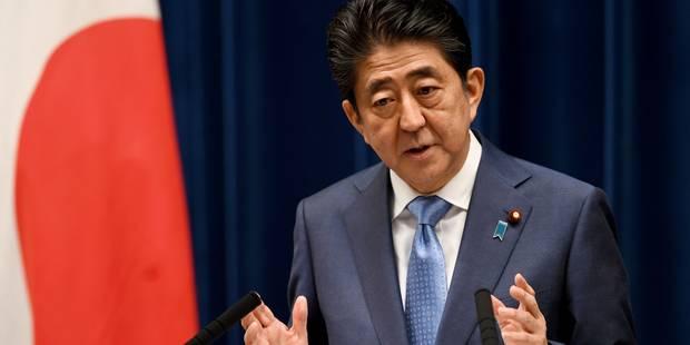 """Le nouveau tir est """"une menace grave et sans précédent"""" pour Shinzo Abe - La Libre"""
