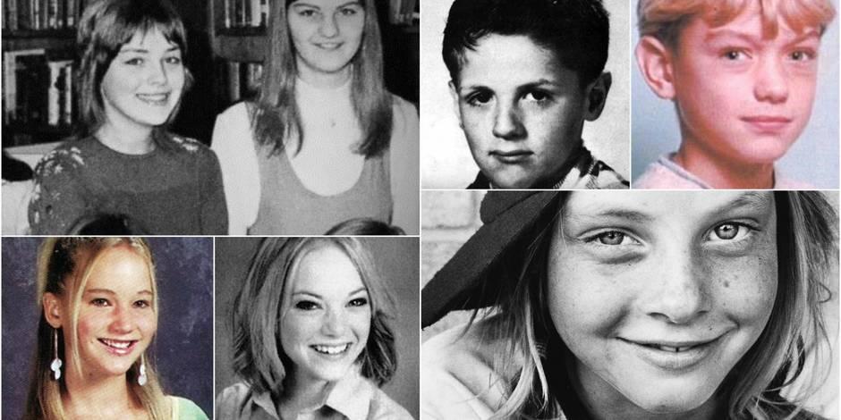 Souvenirs d'école pour les stars de cinéma... qui n'ont pas tous été des bons élèves !