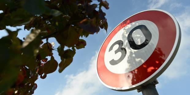 Généraliser la limite des 30 km/h à Bruxelles? - La Libre