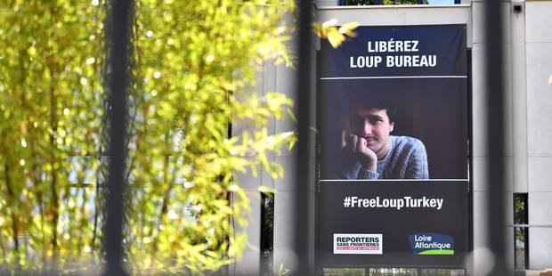 L'étudiant de l'IHECS Loup Bureau libéré par la Turquie - La Libre