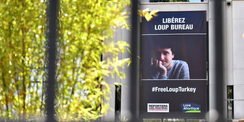 L'étudiant de l'IHECS Loup Bureau libéré par la Turquie
