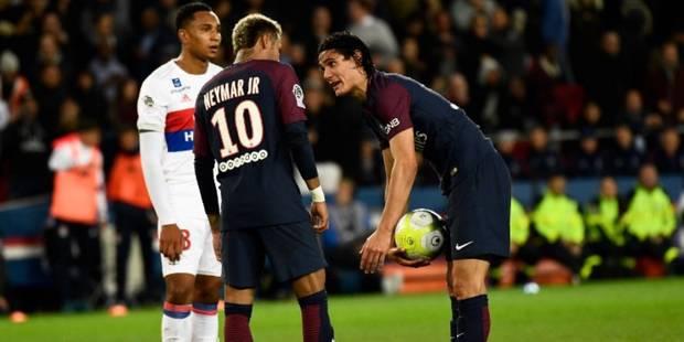 Situation tendue entre Cavani et Neymar au PSG - La Libre