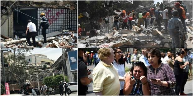 Mexique: un séisme fait près de 248 morts, dont au moins 21 enfants (PHOTOS et VIDEOS) - La Libre