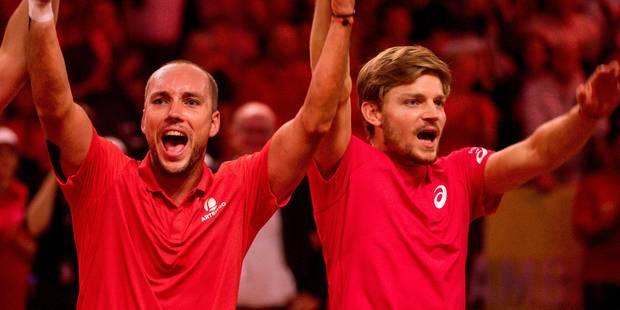 Coupe Davis 2018: premier tour facile pour les Belges - La Libre